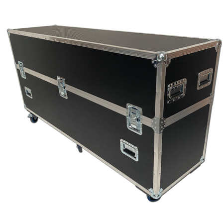 65 Digital Signage Totem Flightcase for Dsign Thile THK 65 Indoor Digital Totem