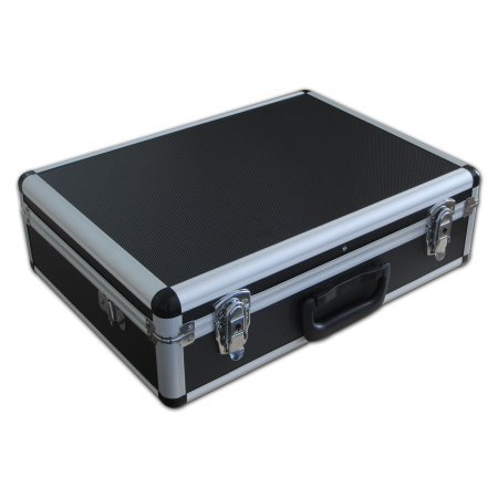 Small Spiderlite Lightweight Semi Flight Case With Tool Insert Dividers + Pick + Pluck Foam In Black