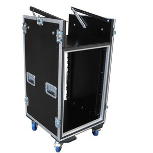 Pro Flightcase 19 Mixer Rack Case Flightcases